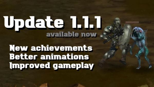 New update 1.1.1 available – New achievements and better animations